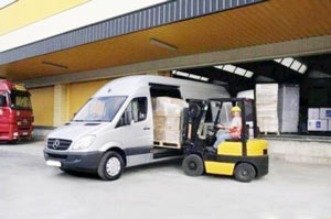 Express pallet courier to Belgium from UK