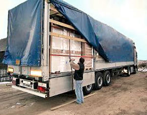 Pallet delivery to Holland freight forwarders Dutch haulage