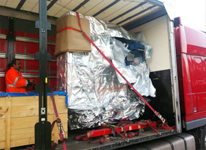 Next day pallet delivery to Ireland