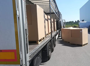 Pallet delivery to Poland